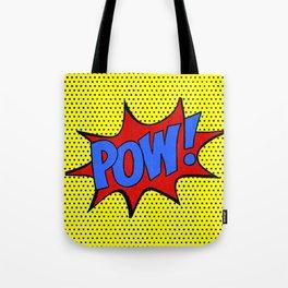 Pow! Tote Bag