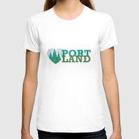 portland T-shirts featuring Portland Love by Eric-Bird