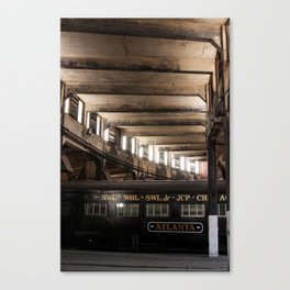 Atlanta Train Canvas Print