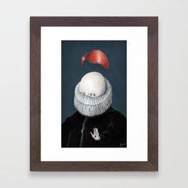 Encarnación: Doble Deidad Framed Art Print