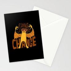 Strange Change Stationery Cards