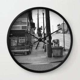 Up Hill  Wall Clock