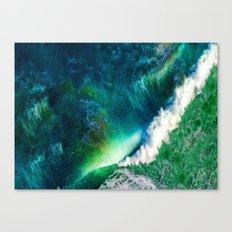 Wave W1 Canvas Print