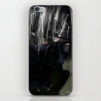 kakashi iPhone & iPod Skins featuring Hatake Kakashi by Raquel Rojas Gómez