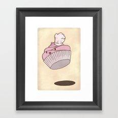 The Cupcake Chef Framed Art Print