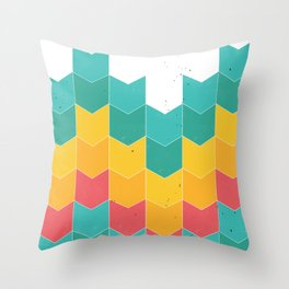 Little colors Throw Pillow