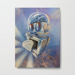 Robotronic: Diamond Droid Metal Print