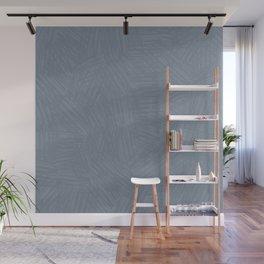 Light Slate Gray Marks Wall Mural