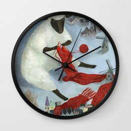 Dutch Pension Wall Clock