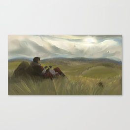 The Wastelands Fields Canvas Print