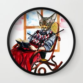 Old man Kronos Wall Clock