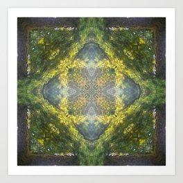 Forest Quadrant Art Print