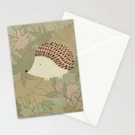 Hedgehog Happiness Stationery Cards