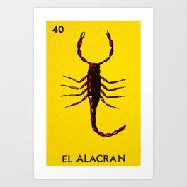 El Alacran Art Print
