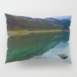 Reflections in Medicine Lake in Jasper National Park, Canada Pillow Sham