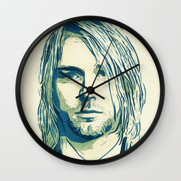 Nevermind Cobain Wall Clock