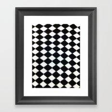 B & W Framed Art Print