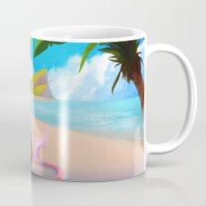Lion on the Beach Mug