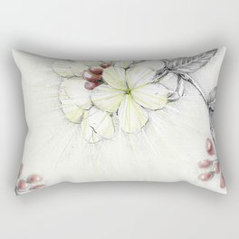 Pequi Flower Rectangular Pillow