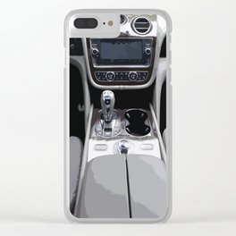 Bentayga Interior Clear iPhone Case
