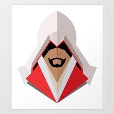 Ezio Auditore Art Print