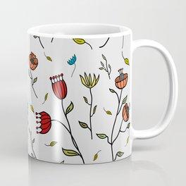 Floral Spice, Flowers Print Pattern Coffee Mug