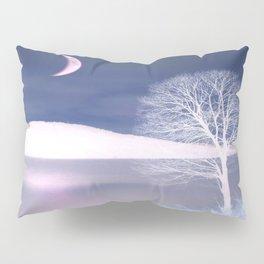 Moon night on the lake Pillow Sham