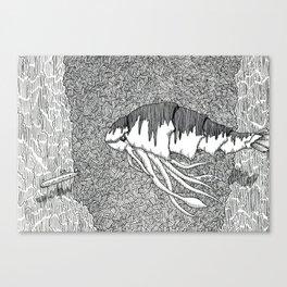 Kraken Shrimp Canvas Print