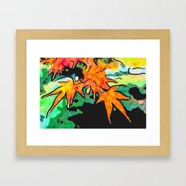 Autumn nature Framed Art Print