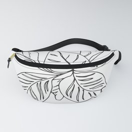 PLANT PORTRAITS - ORNATA PINSTRIPE - COOPER  AND COLLEEN Fanny Pack