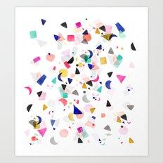Party Confetti Art Print