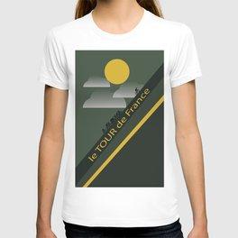 Le Tour de France Poster T-shirt