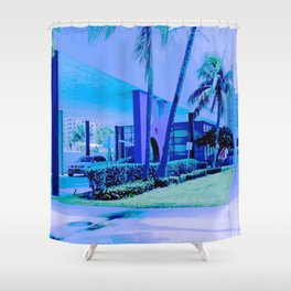 Swimming Hall of Fame, Fort Lauderdale, Fla.  Shower Curtain