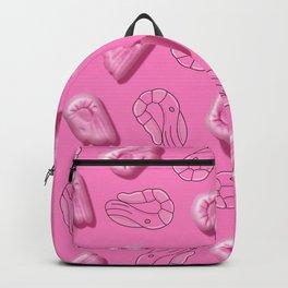 Shrimp in Pink Backpack