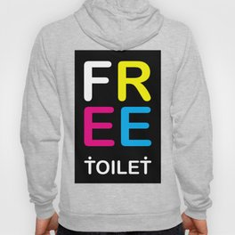 TOILET CLUB #free Hoody