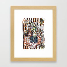 98 Yell Out Loud Framed Art Print