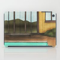 pool iPad Cases featuring Pool by Theodore Parks