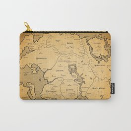 Tamriel Map Carry-All Pouch