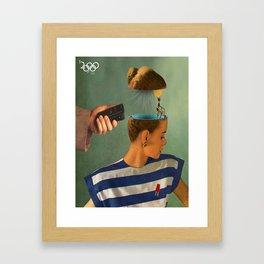 Olympics Framed Art Print