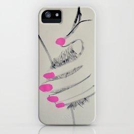 MANICURED iPhone Case
