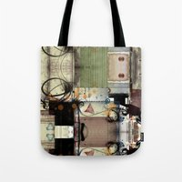 picasso Tote Bags featuring Everyday Picasso by Robin Curtiss