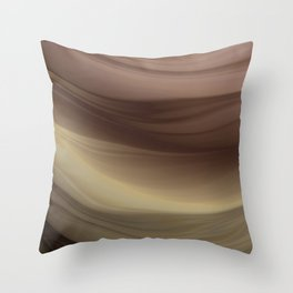 Under the Waves Throw Pillow