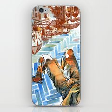 Asleep in Foreign Cities iPhone & iPod Skin