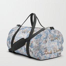 I Won't Back Down Duffle Bag