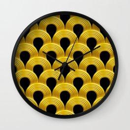 3-D Art Deco Parisian Art Décoratif Pattern Wall Clock
