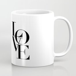 LOVE IS SWEET, Love Sign,Love Art,Wedding Decor,Anniversary Quote,Love Symbol,Love you more Coffee Mug