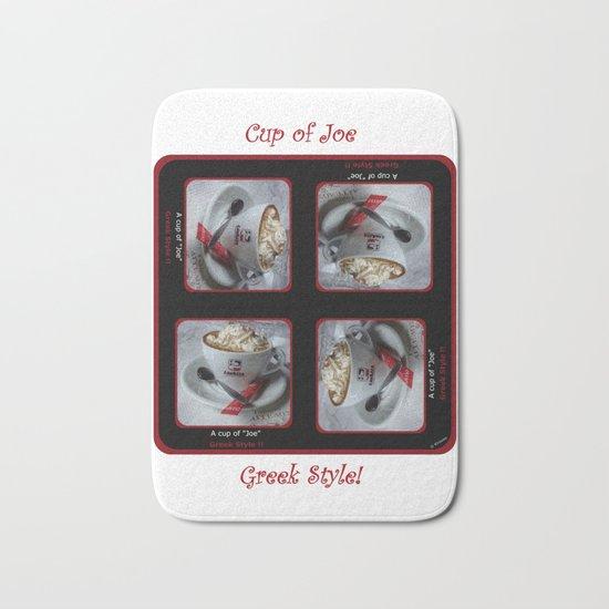 Cup of Joe - Greek Style Bath Mat