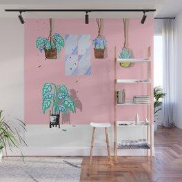 Happy Plants - Illustration 3 Wall Mural