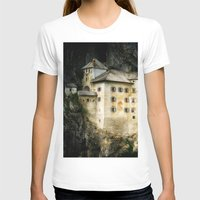 castle T-shirts featuring Castle by DistinctyDesign