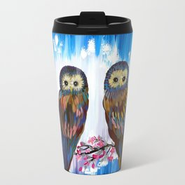 Looking in the Same Direction Travel Mug